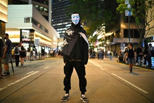 Hong Kong: les manifestants se préparent à célébrer Halloween à leur façon