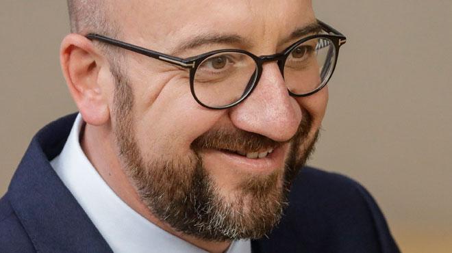 Charles Michel distingué du titre honorifique de ministre d'Etat