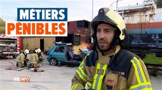 RTL INFO à la rencontre des métiers pénibles- Romuald nous dévoile les coulisses de son métier de pompier (vidéo)
