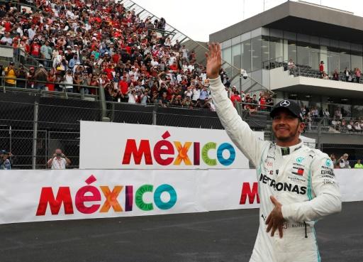 F1: Lewis Hamilton (Mercedes) champion aux Etats-Unis si...