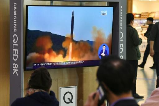 Corée du Nord: nouveau test réussi d'un lanceur de missiles multiples