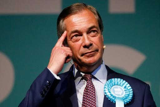 Nigel Farage, apôtre du Brexit et trublion de la politique britannique