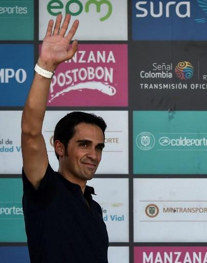 Alberto Contador victime de problèmes gastro-intestinaux hospitalisé en Colombie