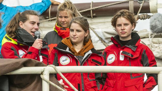 La COP 25 n'est plus organisée au Chili mais en Espagne: Adélaïde Charlier et Anuna De Wever cherchent un voilier rapide pour y participer