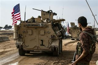 Syrie- visite militaire américaine de bases des forces kurdes (AFP)