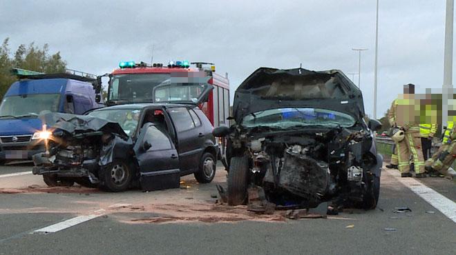 Une conductrice fantôme tuée dans un accident sur le ring de Charleroi: elle a percuté la voiture d'un couple avec son enfant