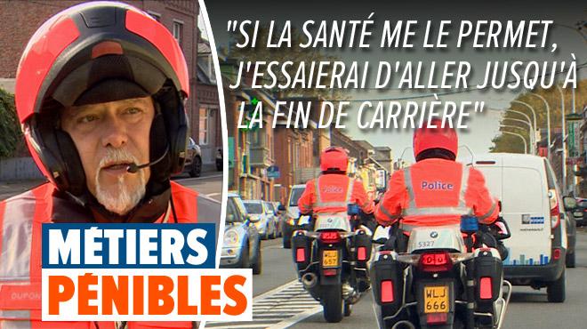 A la rencontre des métiers pénibles: nous avons suivi Etienne, policier à moto, en mission