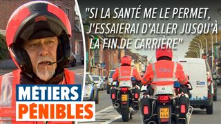 A la rencontre des métiers pénibles- nous avons suivi Etienne, policier à moto, en mission