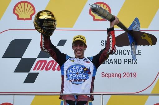 Moto2: Alex Marquez champion, Brad Binder vainqueur en Malaisie