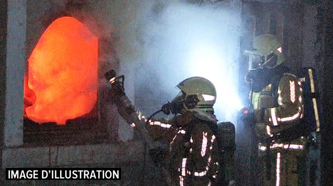 Incendie à Awans: après avoir été réanimée par les pompiers, une sexagénaire décède à l'hôpital