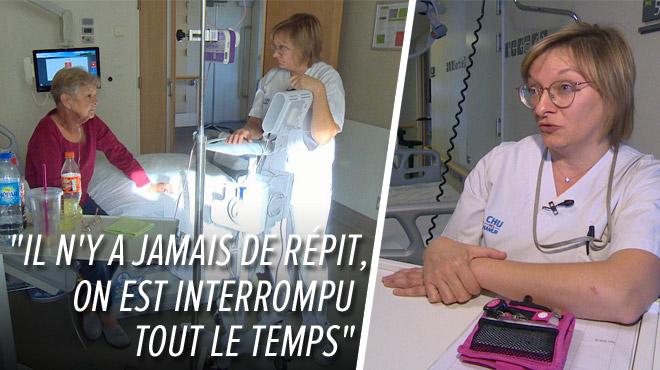 À la rencontre des métiers pénibles: infirmière, Valérie a vu sa charge de travail s'alourdir en 21 ans de travail