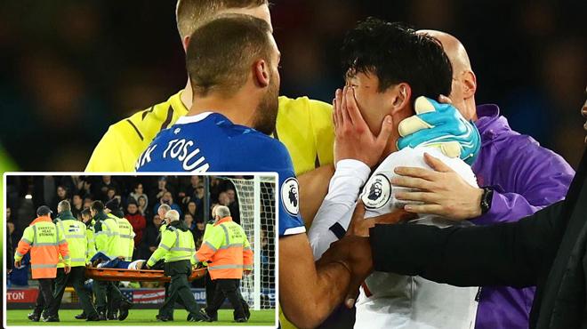Des larmes et des prières sur la pelouse: l'horrible blessure qui a marqué le match Everton-Tottenham (vidéo)
