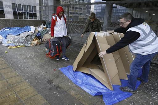 En 10 ans, le nombre de sans-abris et personnes mal logées a plus que doublé à Bruxelles