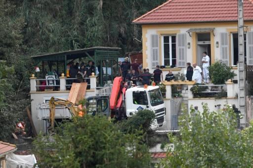 Nice: la septuagénaire recherchée après un glissement de terrain retrouvée décédée