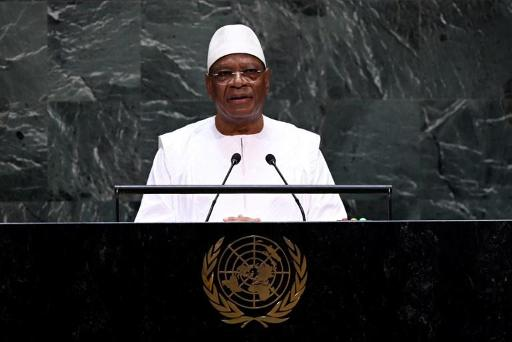 Le président malien appelle à