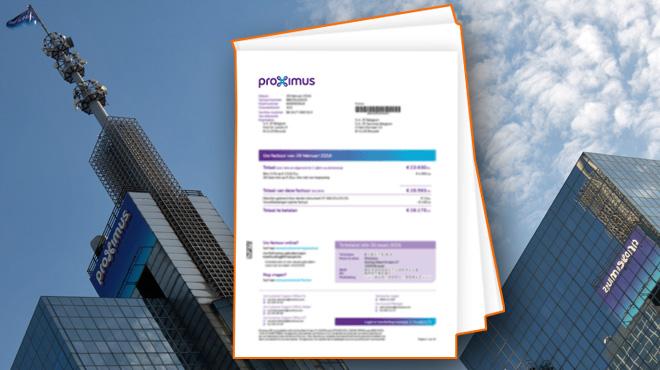 Proximus va faire grimper votre facture dès le premier janvier: voici la liste des augmentations