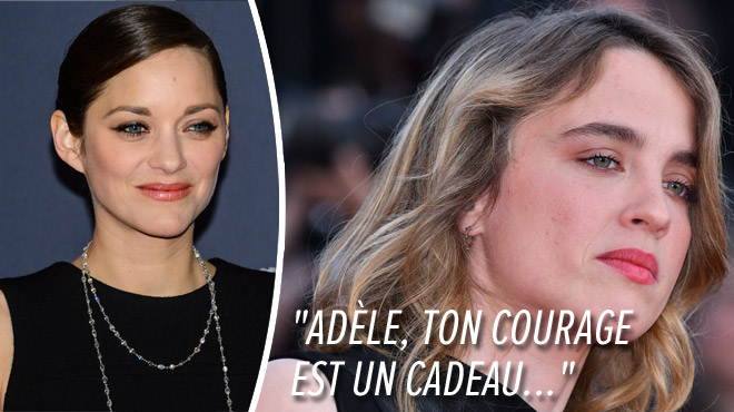 Accusations de harcèlement sexuel: Marion Cotillard remercie Adèle Haenel