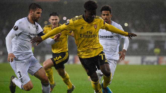 Europa League: Guimaraes et Arsenal partagent 1-1 dans le groupe du Standard