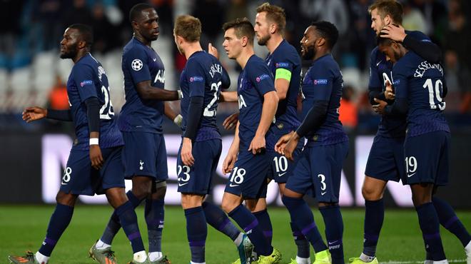 Ligue des champions: Tottenham corrige Belgrade et entrevoit les huitièmes