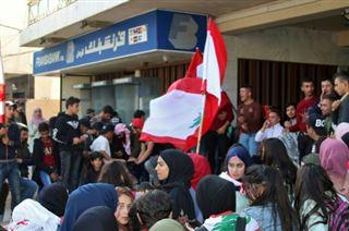 Liban- écoliers et étudiants mobilisés pour poursuivre la contestation