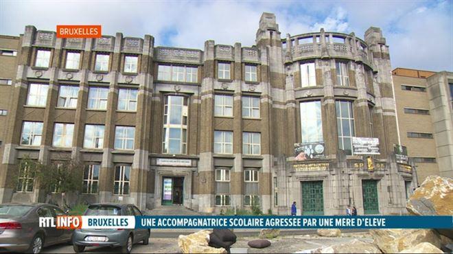 Une mère avait roué de coups une accompagnatrice d'école à Bruxelles- la peine est tombée