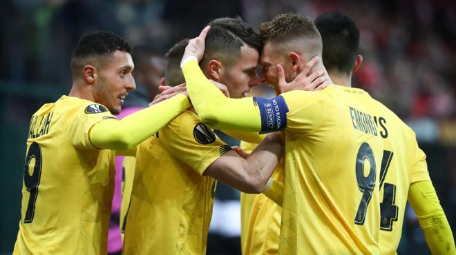 Europa League: le Standard arrache une magnifique victoire sur le fil contre Francfort (photos)