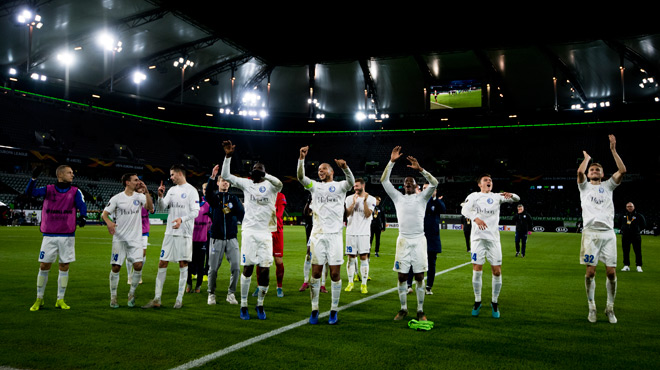 Europa League: La Gantoise surprend Wolfsburg au terme d'un match sensationnel (photos)