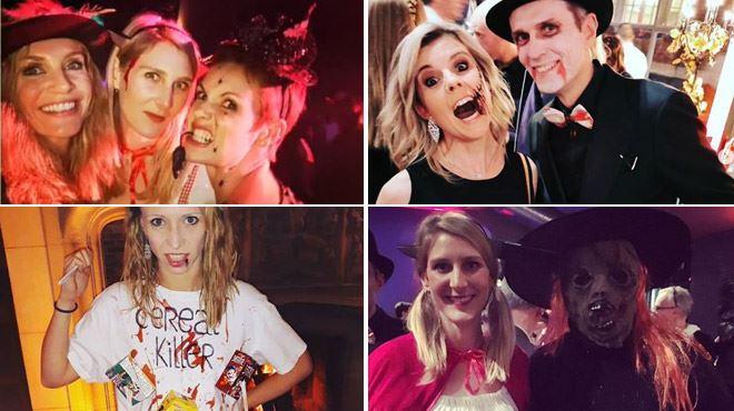 Les stars de RTL fêtent Halloween- les photos d'une soirée endiablée