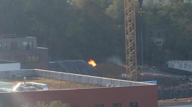 Fuite de gaz sur un chantier à Uccle: aucune évacuation n'a été nécessaire