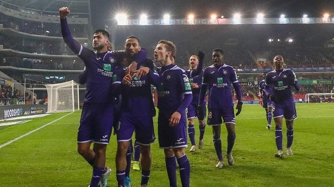 Anderlecht arrache la victoire sur le fil à Zulte-Waregem
