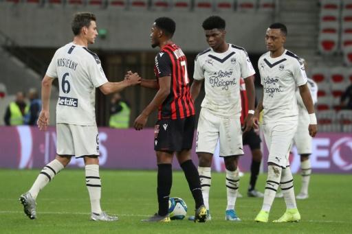 Ligue 1: Bordeaux prend un point à Nice et monte sur le podium