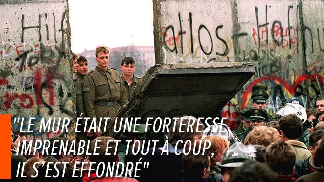 La chute du Mur de Berlin, c'était il y a 30 ans: retour en images sur ce moment historique