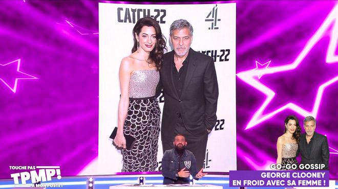 Amal et George Clooney, la flamme s'éteint? Les rumeurs sur la sexualité de l'acteur agacent Cyril Hanouna