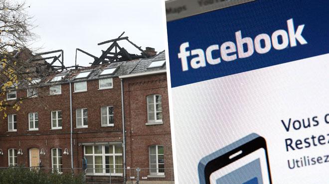 Incendie du futur centre d'asile à Bilzen: la police enquête sur les commentaires publiés sur internet