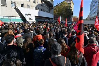 Etudiant immolé- blocage à Lyon 2, l'université fermée