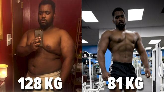 Transformation SPECTACULAIRE: cet homme a perdu 47 kg en 10 mois (vidéo)