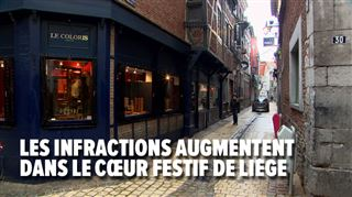 Plusieurs agressions au couteau dans le carré de Liège le week-end dernier- le quartier devient-il infréquentable?