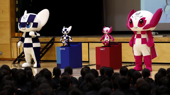 Les versions robot des mascottes des Jeux Olympiques de Tokyo ont été dévoilées (vidéo)