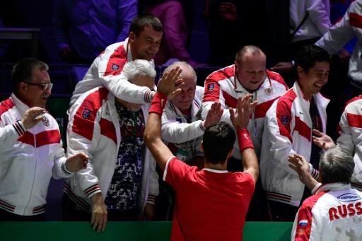 Coupe Davis: la Belgique et la Russie ouvrent le bal