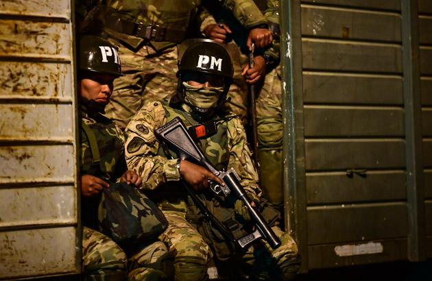 bolivie-police