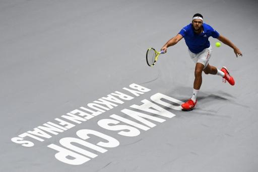 Coupe Davis: Tsonga donne l'avantage à la France face au Japon