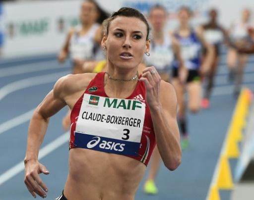 Athlétisme: Ophélie-Claude Boxberger contrôlée positive à l'EPO