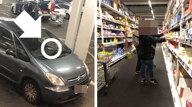 Pour Eduard qui les a suivis, ces gens FRAUDENT en utilisant une carte de stationnement pour personnes handicapées- combien sont-ils en Belgique? 1