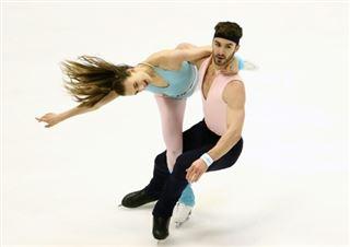 Patinage artistique- Papadakis et Cizeron au top sur la danse rythmique