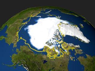 Arctique- deux explorateurs en difficulté à cause du réchauffement climatique