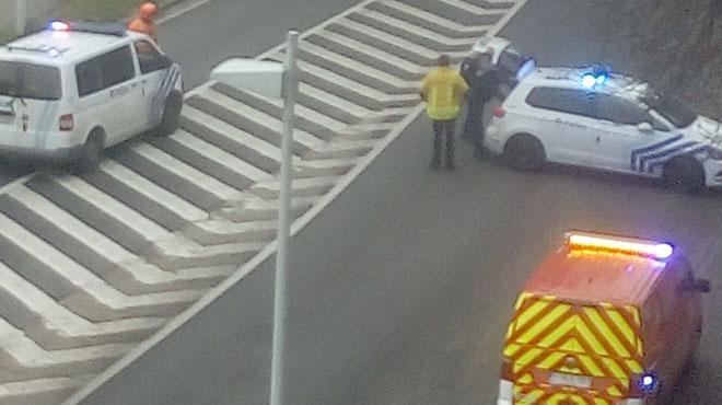 Grenade dans un immeuble à Liège: elle a été retirée par les démineurs, le périmètre de sécurité est levé
