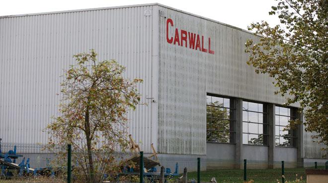 Dépôt de bilan chez Carwall à Sombreffe: plus de 200 emplois menacés