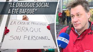 Mouvement de contestation chez Proximus- plusieurs magasins fermés en Wallonie