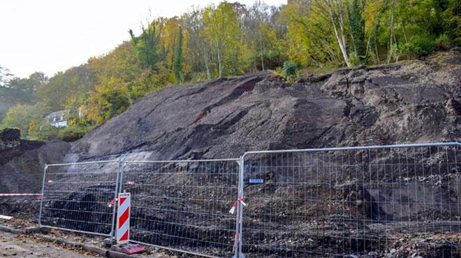 Glissement de terrain à Namur: les travaux de stabilisation et sécurisation sont terminés
