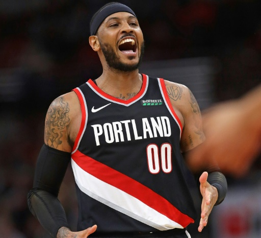 NBA: Carmelo Anthony désigné joueur de la semaine à l'Ouest